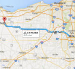 150530 Akron OH to Norwalk OH