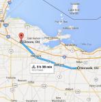 150531 Norwalk OH to Elmore OH