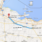 150531 Norwalk OH to Elmore OH