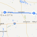 Cooperstown ND to McClusky ND