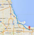 Gary to Chicago