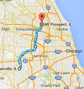 Trip Log – Day 35 – Naperville, IL to Mount Prospect, IL | How Will ...