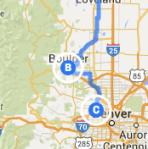 Boulder to Arvada