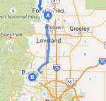 Fort Collins to Boulder