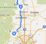 Fort Collins to Boulder