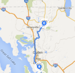 Kaysville to Logan