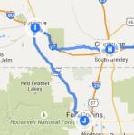 Laramie to Fort Collins