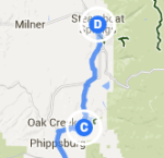 Oak Creek to Steamboat