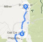 Oak Creek to Steamboat