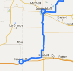 Scottsbluff to Pine Bluff