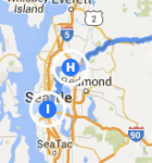 Bothell to Seattle