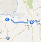 Spokane to Wilbur