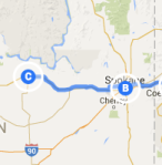 Spokane to Wilbur