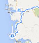 Aberdeen to Long Beach