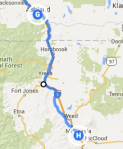 Ashland to Mount Shasta
