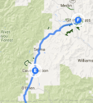 Cave Junction to Grant's Pass
