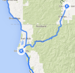 Crescent City to Cave Junction