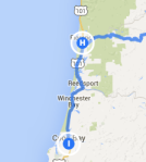 florence to Coos Bay