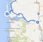 Long Beach to Longview