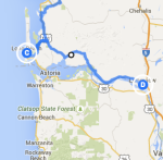 Long Beach to Longview