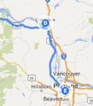 Longview to Portland