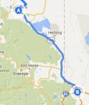 Susanville to Reno