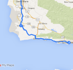 Lompoc to Santa Barbara
