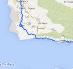 Lompoc to Santa Barbara