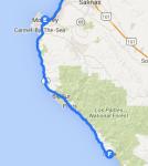 Monterey to Lucia