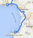 Santa Cruz to Monterey