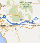 to Ocotillo