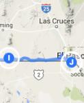 Columbus to El Paso