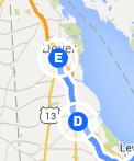 To Dover DE