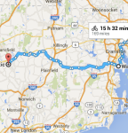 to Willimantic