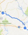 To Athens GA