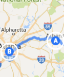 to Atlanta